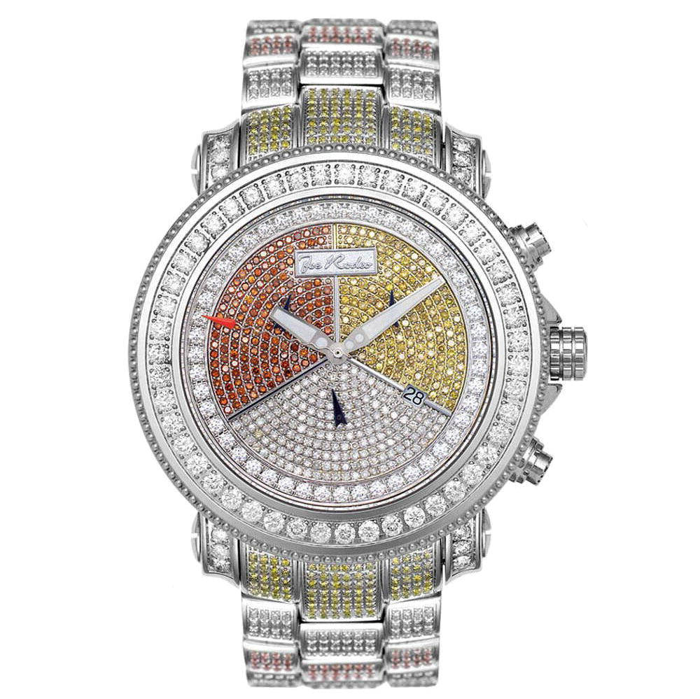 Joe Rodeo Diamond Iced Out Watch 17.25ct Super Junior Main Image