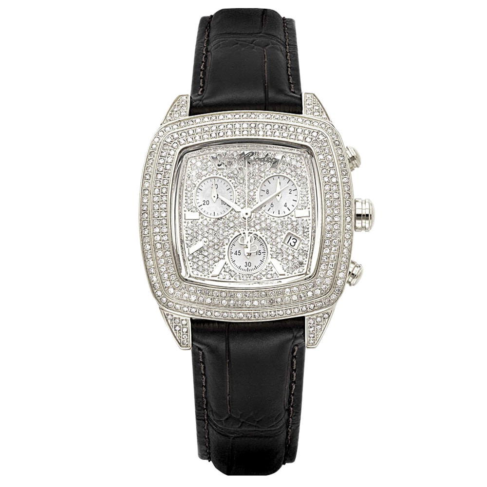 JOE RODEO Diamond Watches: Chelsea Iced Out Watch 5ct Main Image