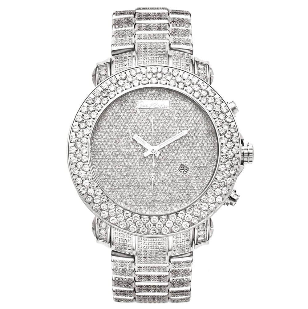 JOE RODEO Diamond Watches: Fully Iced Out Mens Watch 25.50ct Main Image