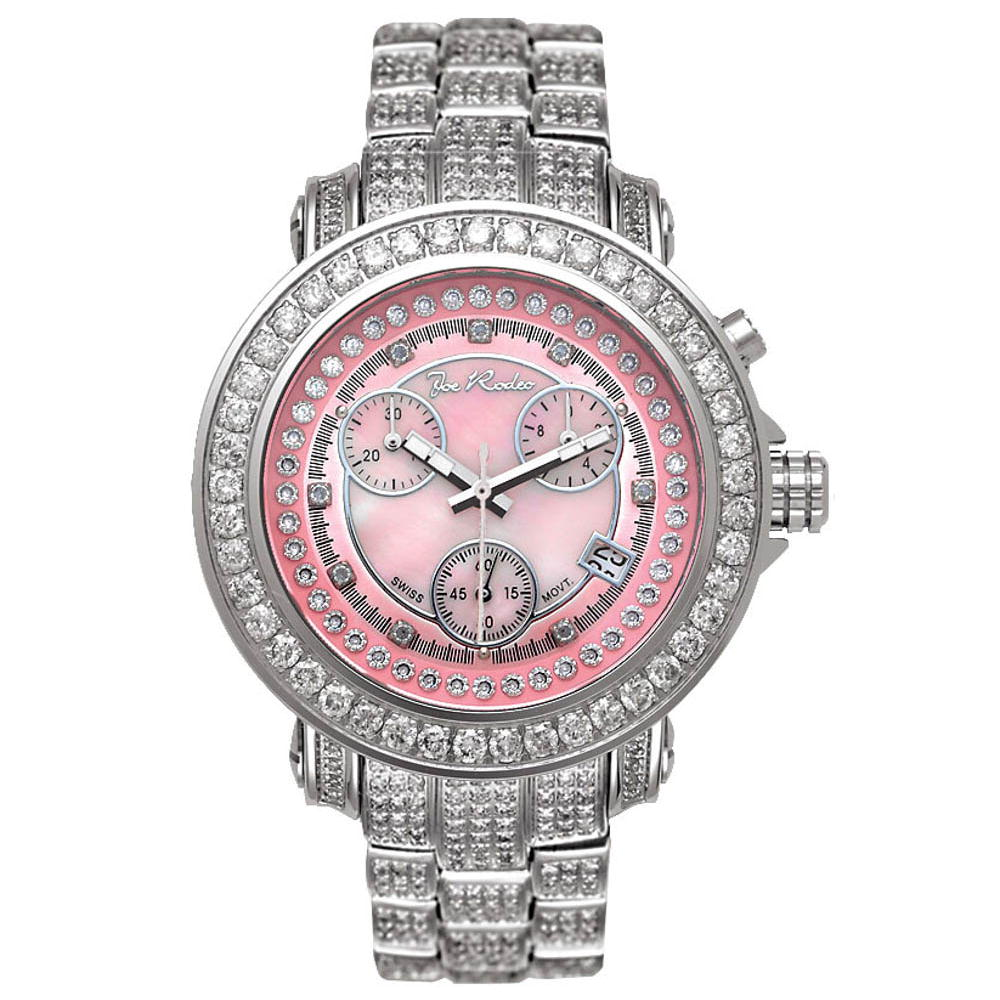 Joe Rodeo JoJo Ladys Diamond Watch 9.50 ct Rio Main Image