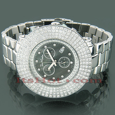 Hip Hop Watches Oversized Joe Rodeo Junior Mens Diamond Watch 9ct Main Image