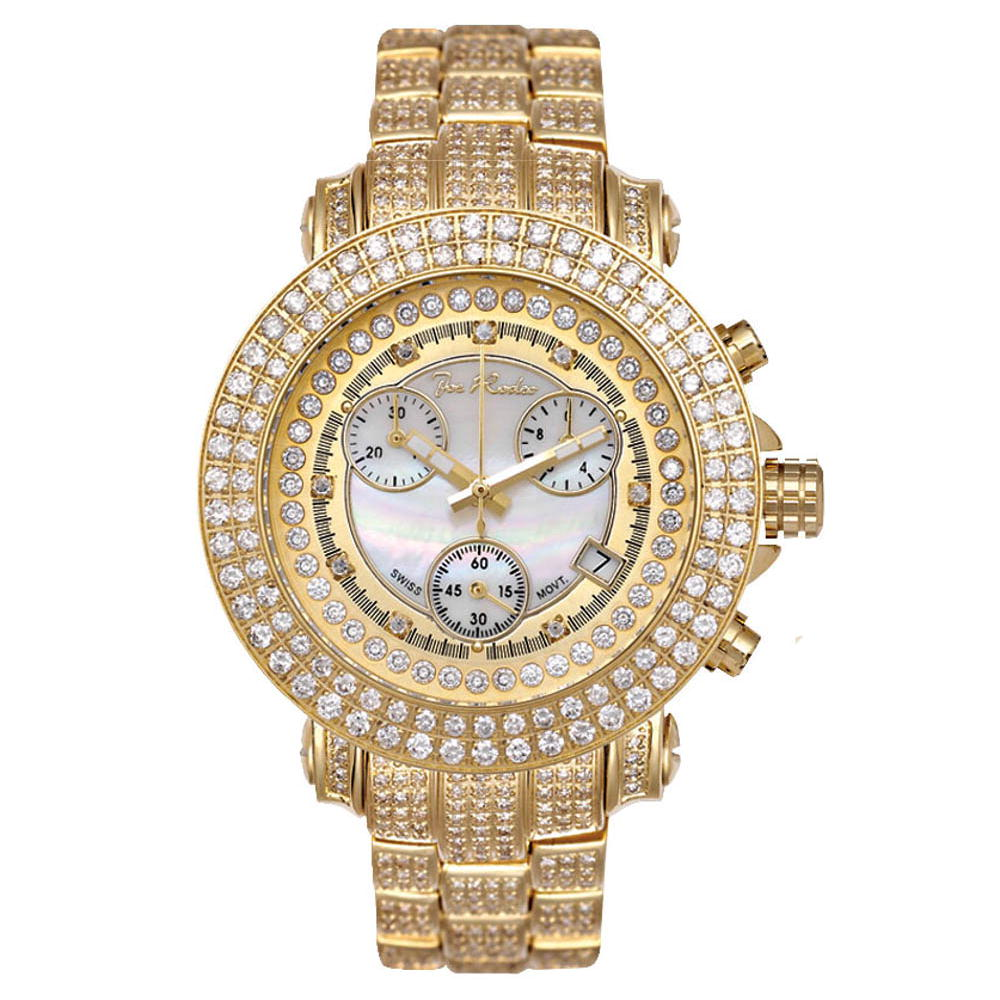 Joe Rodeo Ladies Diamond Watch 10.00 ct Rio
