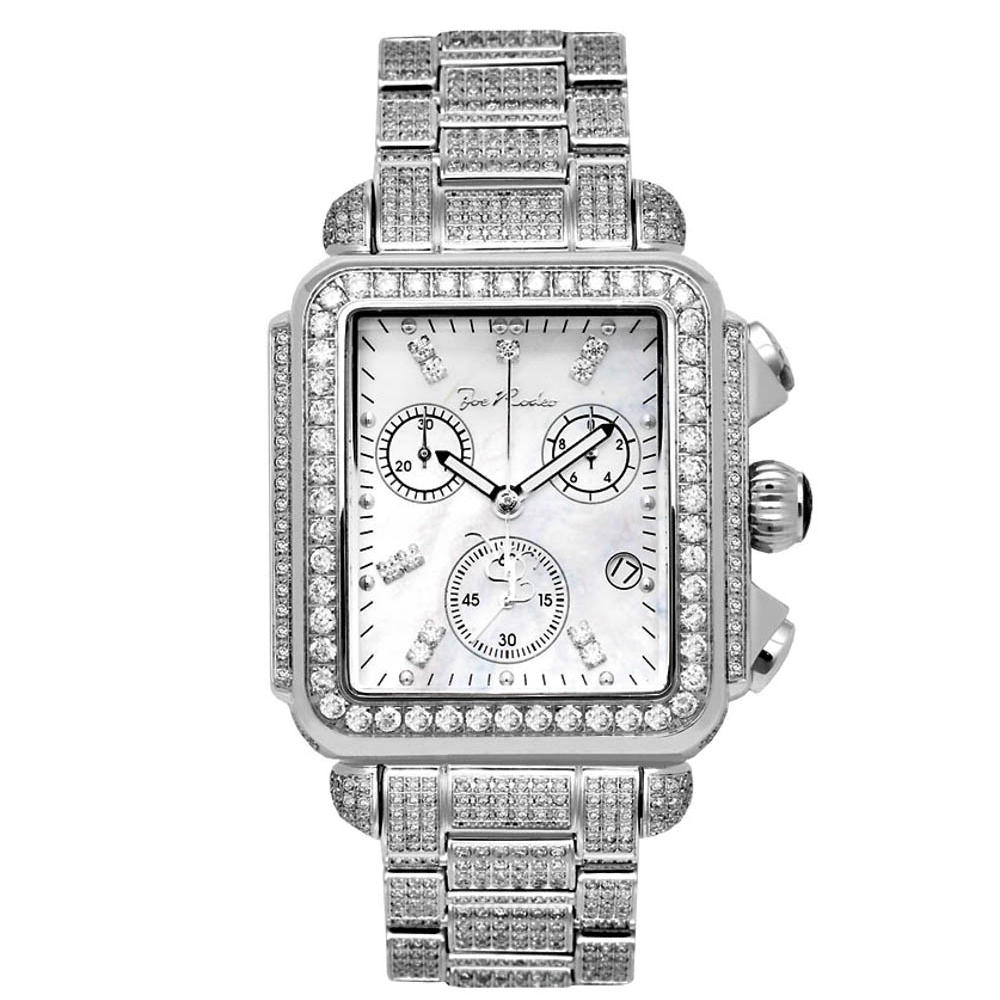 Joe Rodeo Madison Watch Full Diamond Watch 10.25ct Main Image