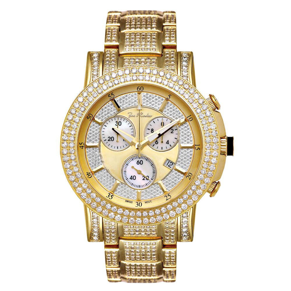 Joe Rodeo Trooper Mens Diamond Watch 14.50ct Main Image