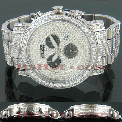 Joe Rodeo Victory Fully Paved Mens Diamond Watch 16ct Main Image