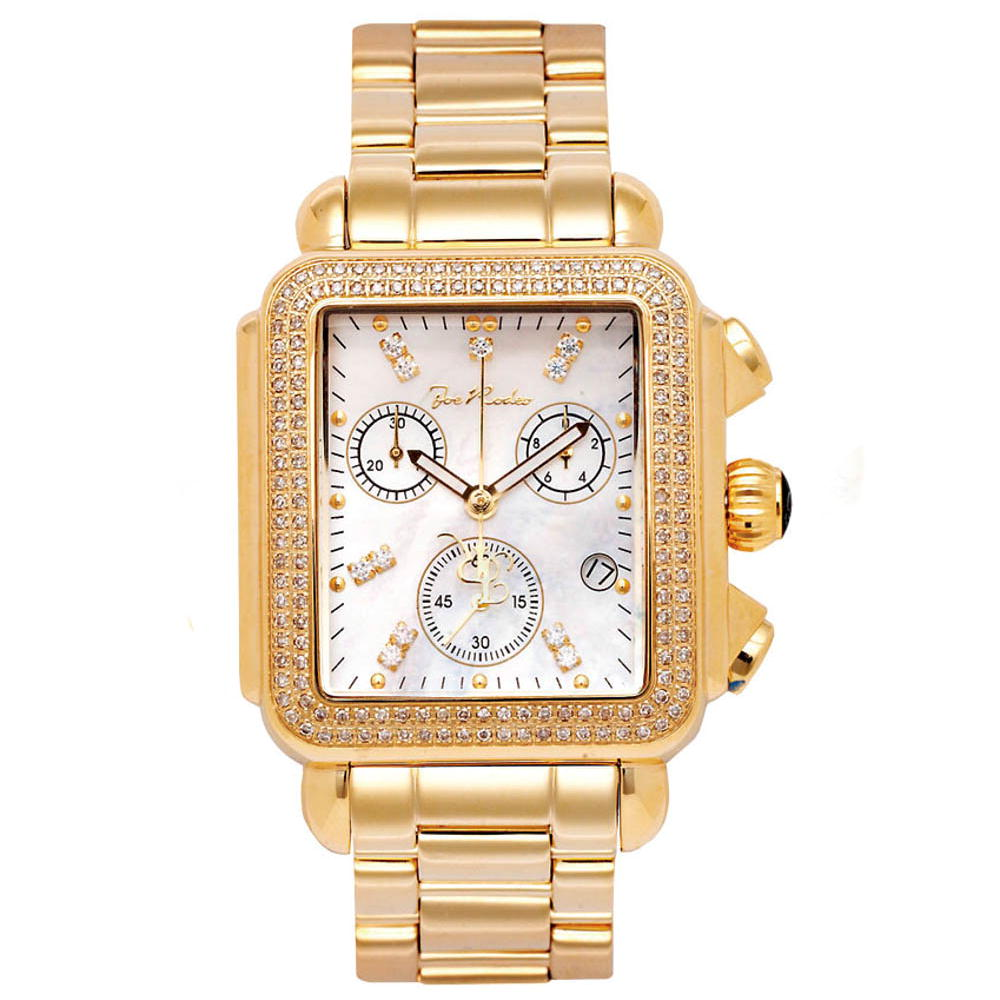 Joe Rodeo Watch 1.50ct Madison Yellow Gold Main Image