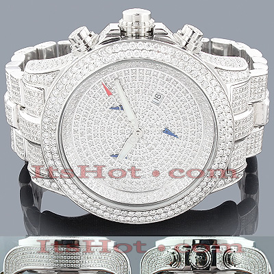 Joe Rodeo Watches Mens Diamond Watch Master Pilot 28.75