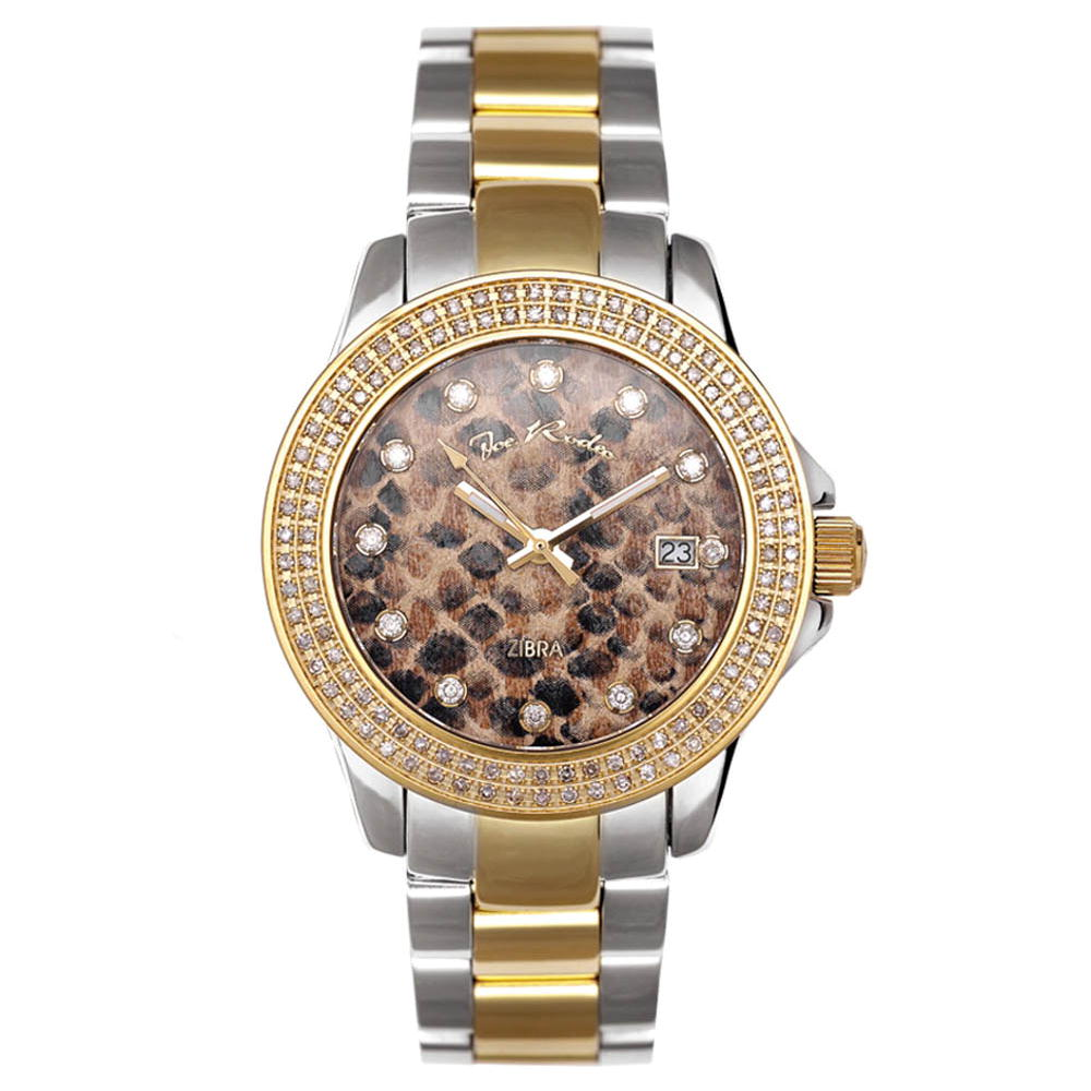 Joe Rodeo Watches: Zibra Ladies Diamond Watch 1.25ct Main Image