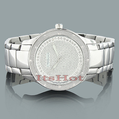 JoJino Mens Diamond Watch 0.12ct