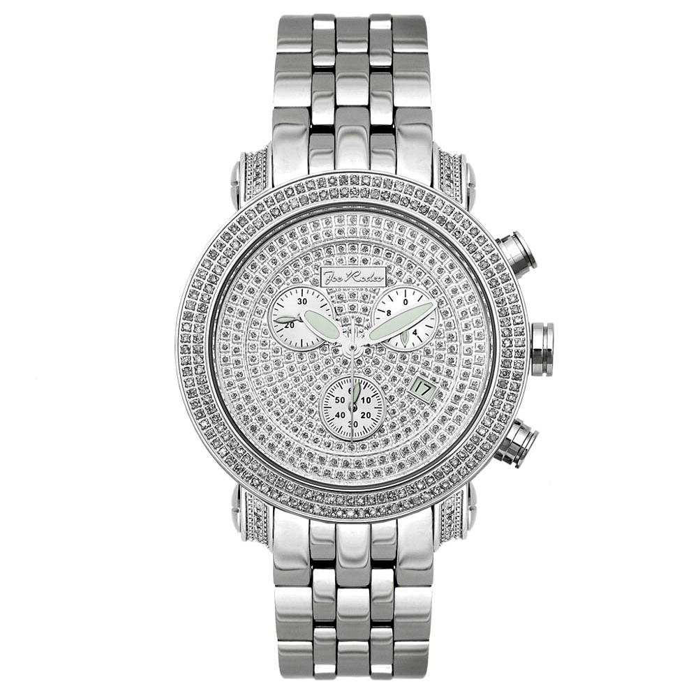 JOJO Diamond Bezel Joe Rodeo Watch - Classic 3.50ct Main Image