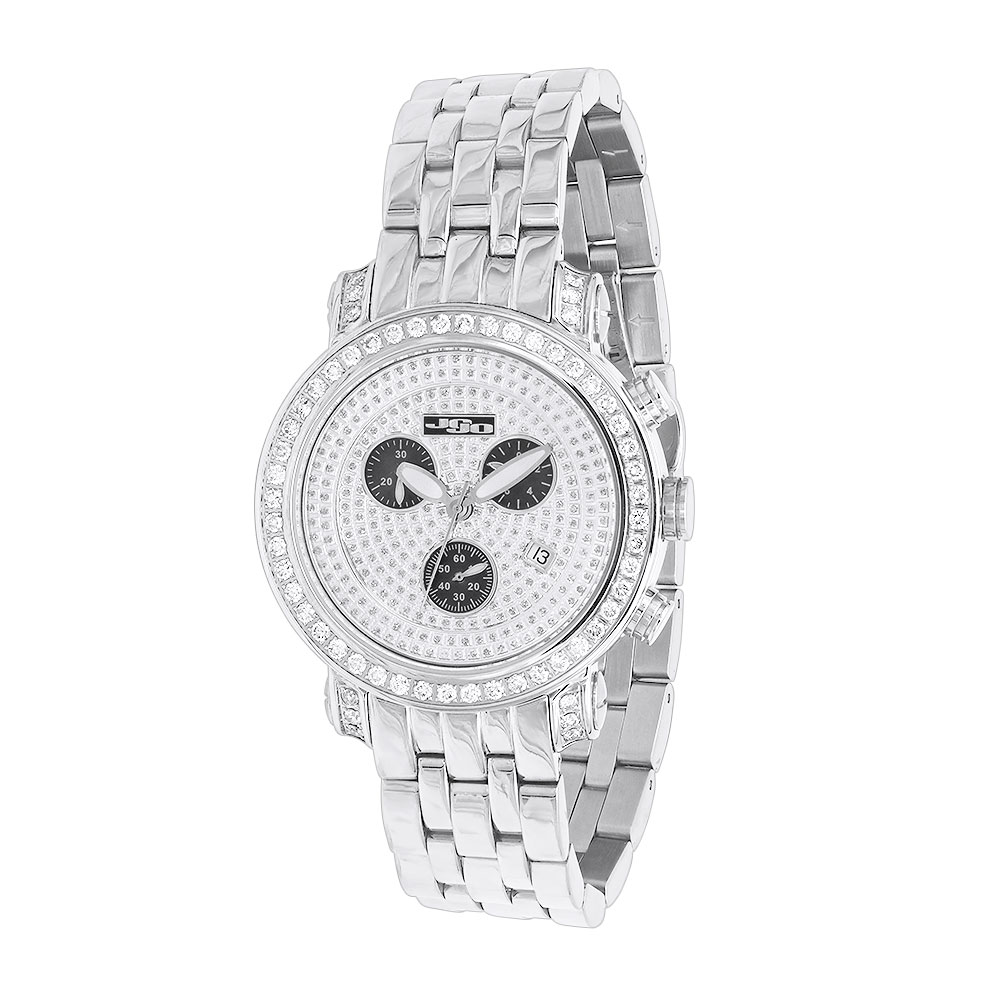 JoJo Joe Rodeo Classic Mens Diamond Watch 3.50ct Main Image