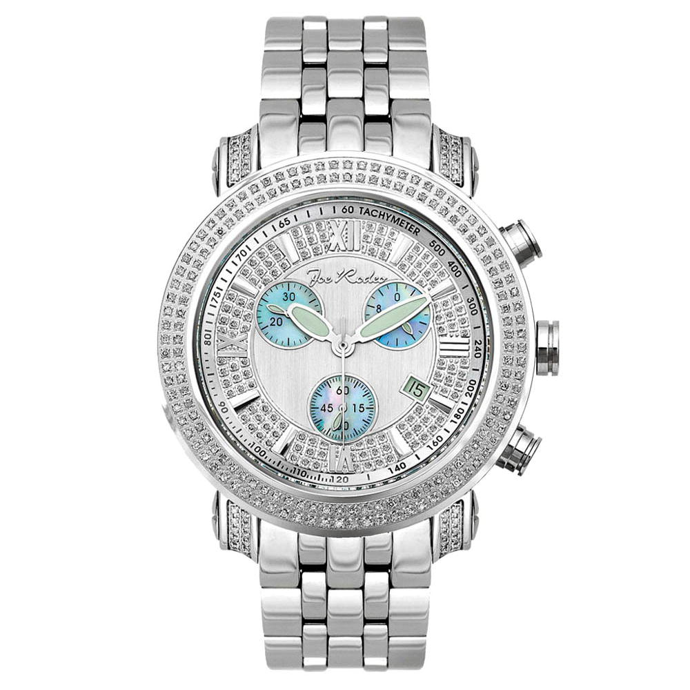 JoJo Joe Rodeo Diamond Tyler Watch 2.00ct Silver Main Image