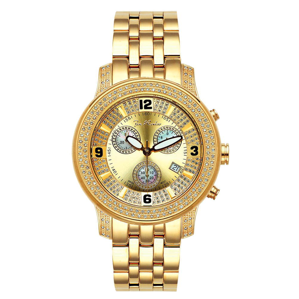 JoJo Joe Rodeo Diamond Watch 1.50ct 2000 Yellow Main Image