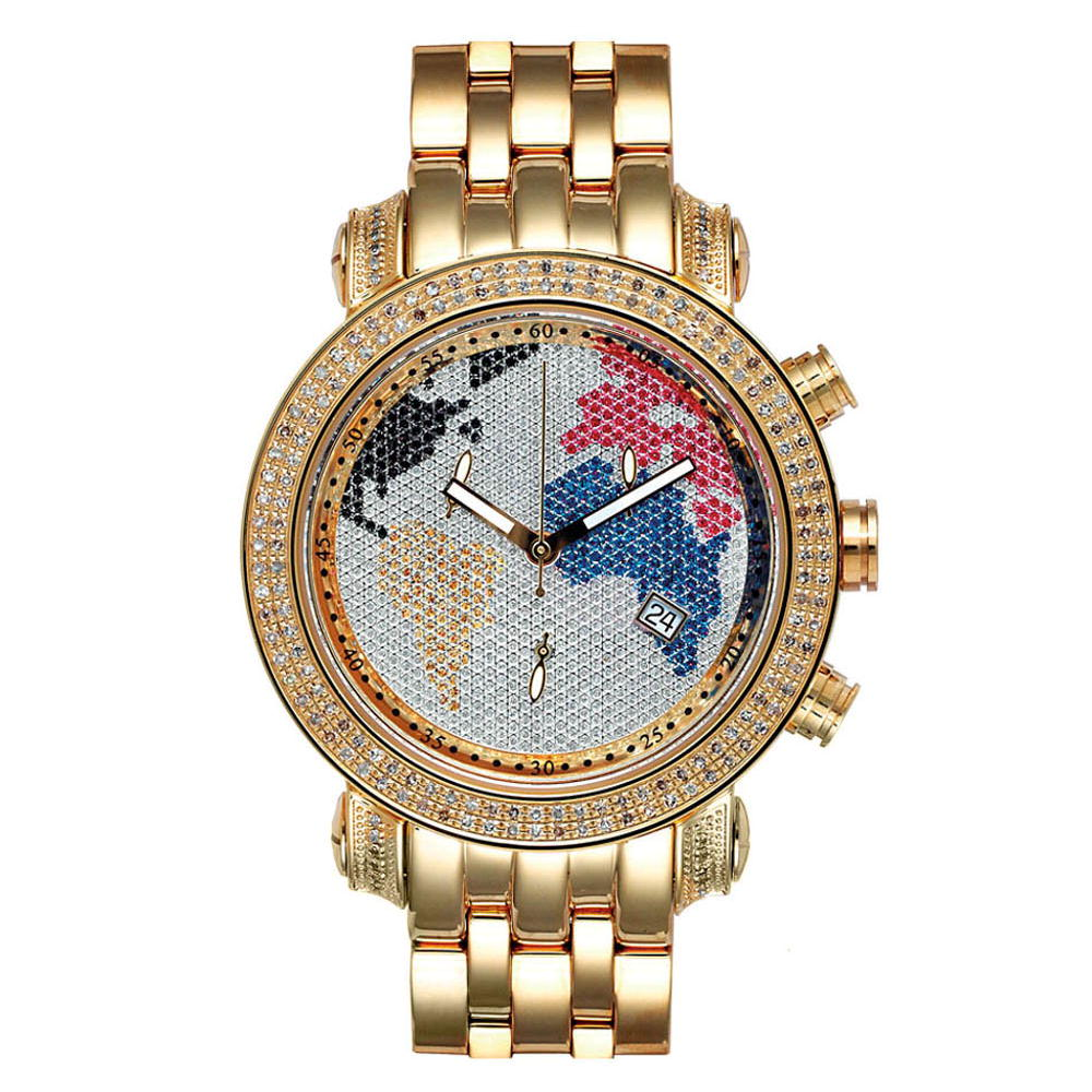 JoJo Joe Rodeo Mens Diamond Watch 1.75 Tyler Map Main Image