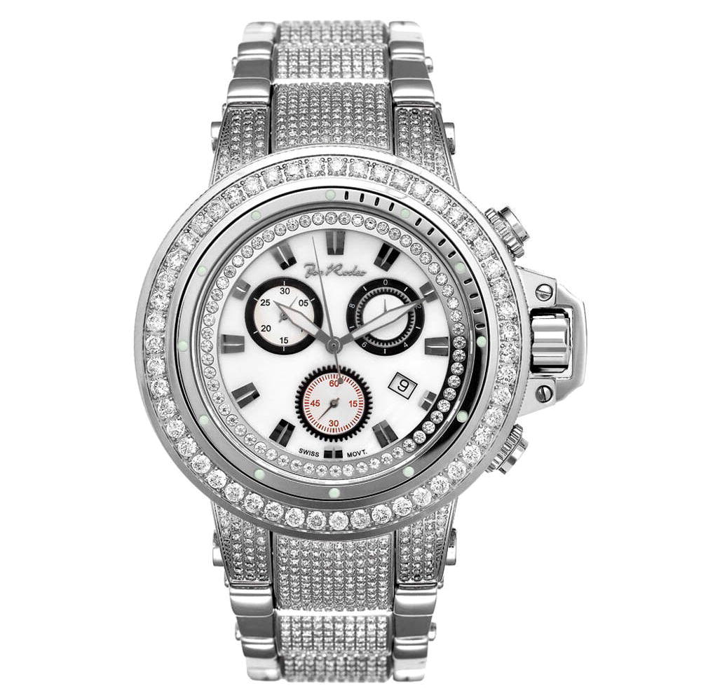 JoJo Joe Rodeo Razor Mens Diamond Watch 22ct White Main Image