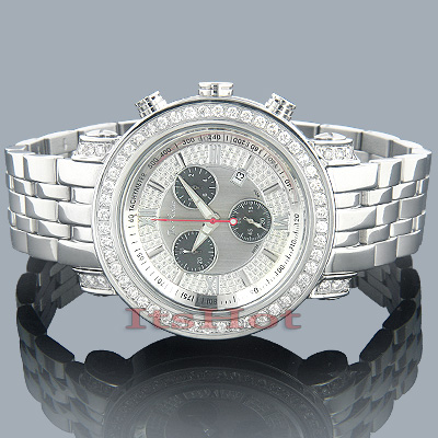 JoJo Joe Rodeo Tyler Mens Diamond Watch 4.50ct
