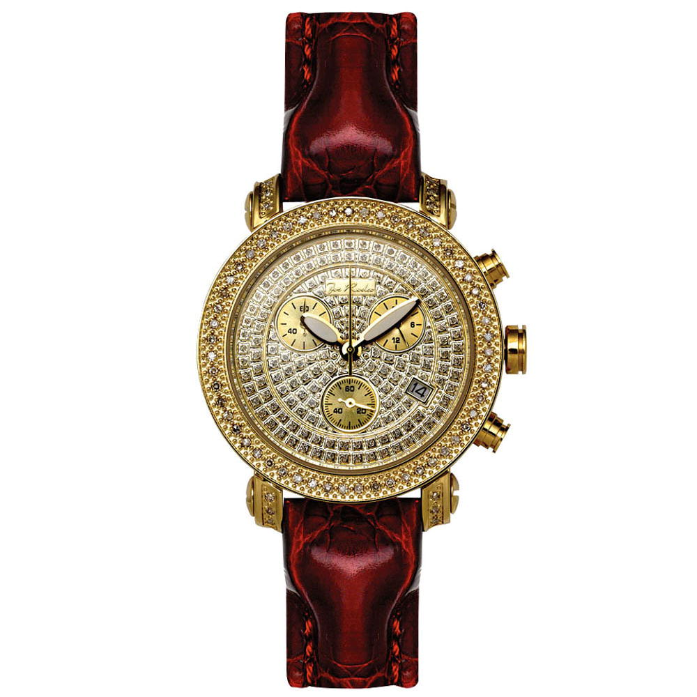 JoJo Joe Rodeo Womens Diamond Watch 0.60ct Yellow Gold Main Image