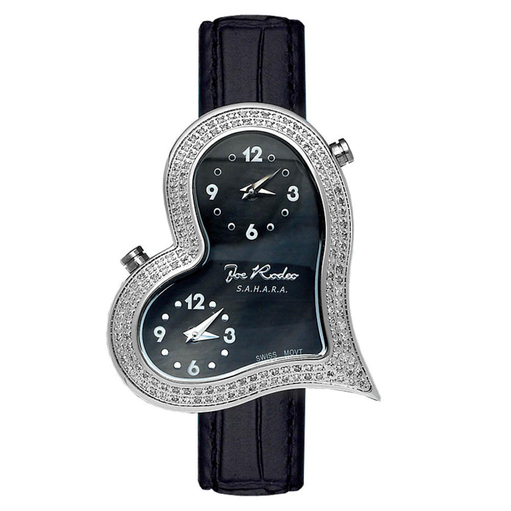 JoJo Ladys Diamond Joe Rodeo Heart Watch 1.4ct Sahara Main Image