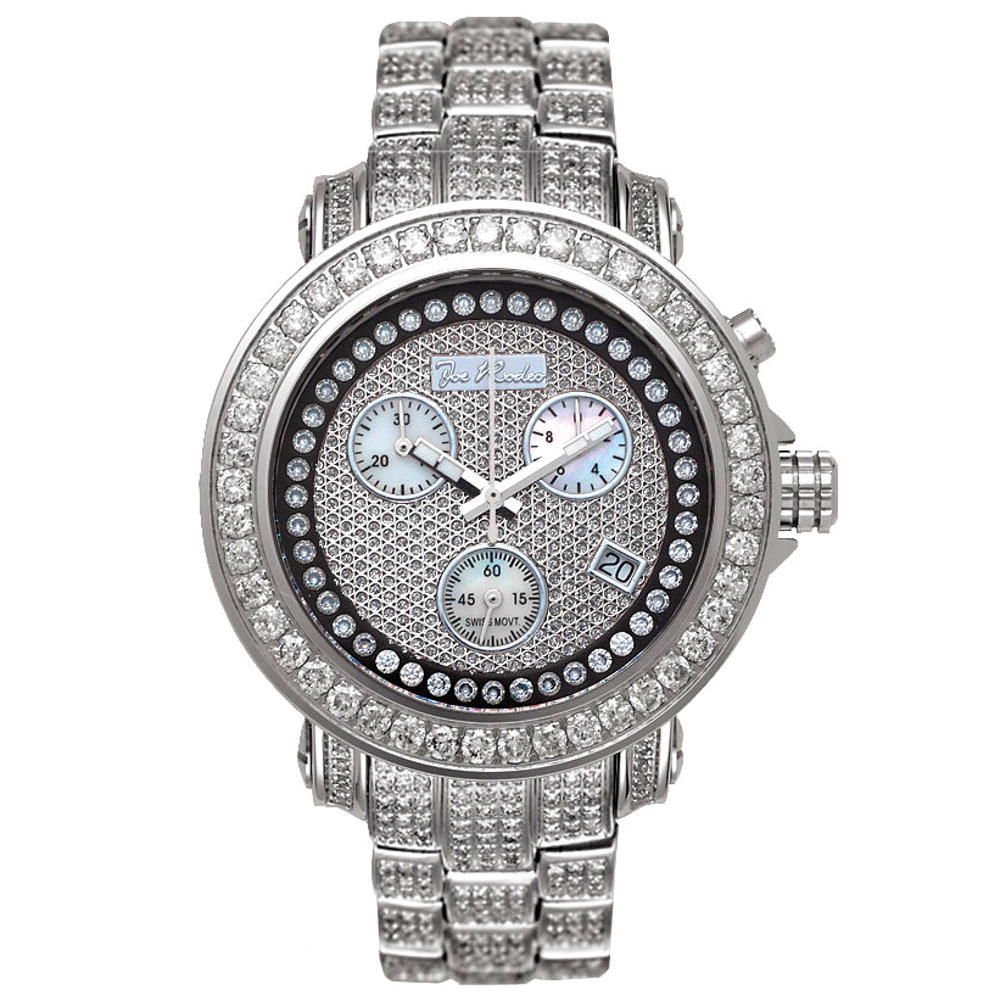 JoJo Rio Womens Diamond Watch 9.50ct Diamond Band Main Image