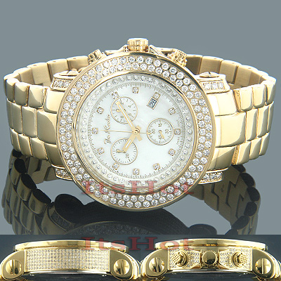 JoJo Watch 6.75 ct Joe Rodeo Junior Yellow Gold