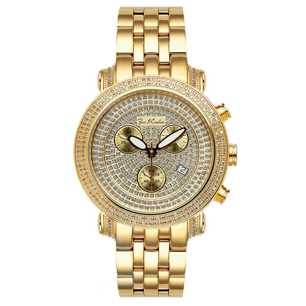 JoJo Watch: Diamond Joe Rodeo Watch 1.75ct Yellow Gold Classic Main Image