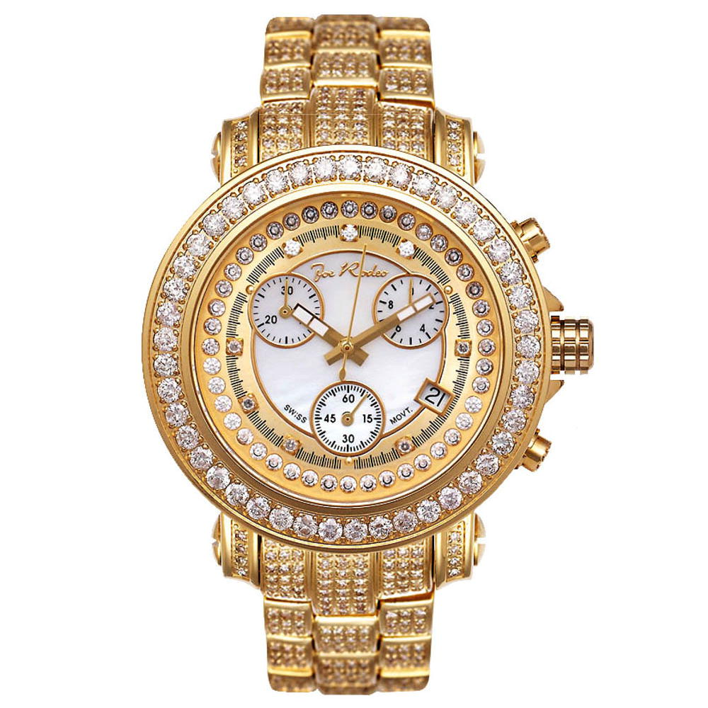 JoJo Watch Joe Rodeo Ladies Diamond Watch 9.50ct Rio Main Image