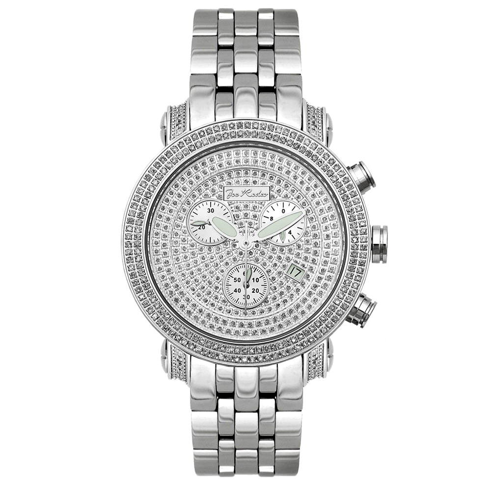 JoJo Watches: Joe Rodeo Diamond Watch 1.75ct White
