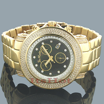 JoJo Watches Joe Rodeo Diamond Watch 2.50 Yellow Junior