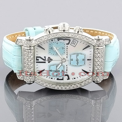 Ladies Aqua Master Diamond Watch 1.15ct