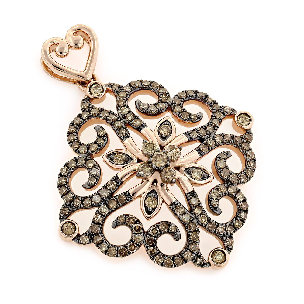 fashion diamond pendant designer