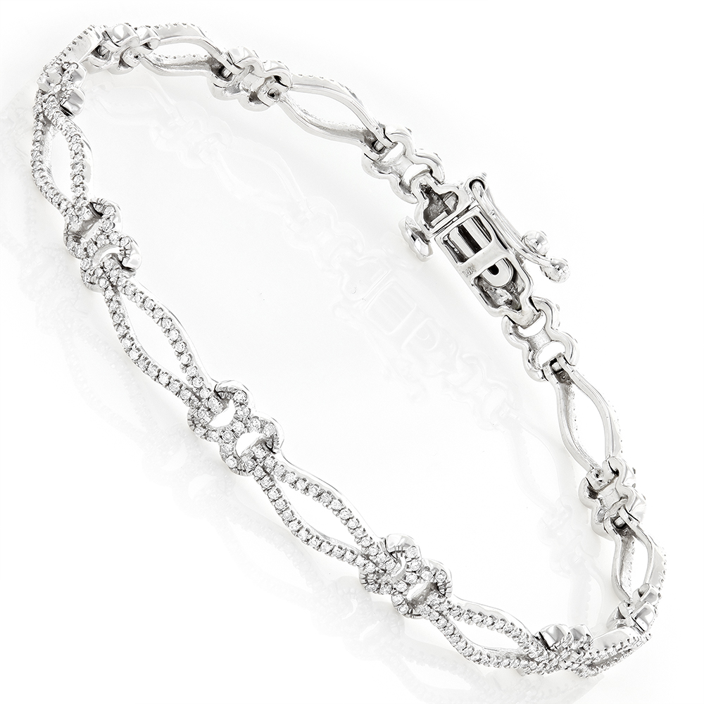 art silver with on enlarge f sterling diamond mazal bracelet accent br g to click htm infinity