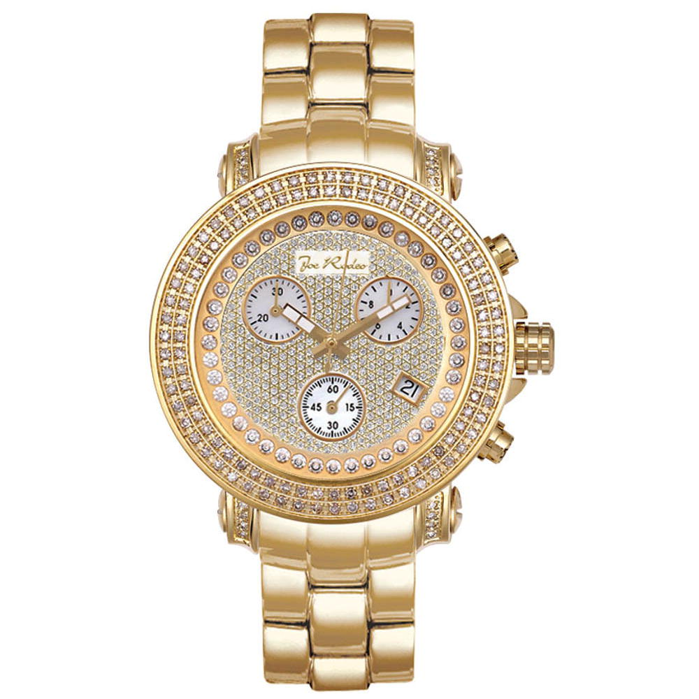 Ladies Diamond JoJo Watch 1.25ct Yellow Gold Rio Main Image