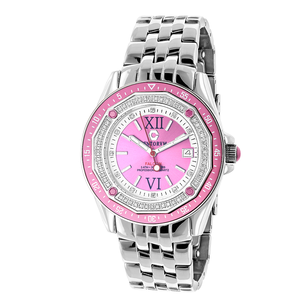Ladies Diamond Watch: Centorum Falcon 0.50ct Main Image
