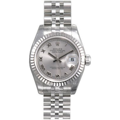 Ladies ROLEX Oyster Perpetual Datejust Watch Main Image
