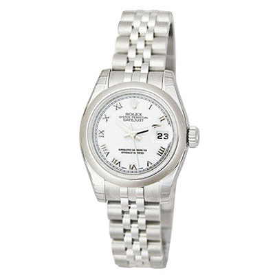 Ladies ROLEX Oyster Perpetual Stainless Steel Watch Main Image