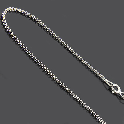 "Ladies Silver Chains: Sterling Cable Chain Necklace 1mm 18"" ladies-silver-chains-sterling-cable-chain-necklace-15mm-18_1"