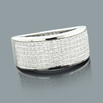 Ladies Sterling Silver Diamond Wedding Ring 0.31ct Ladies Sterling Silver Diamond Wedding Ring 0.31ct