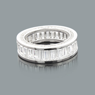 Large Baguette Diamond Eternity Band Made in New York 6.20ct 14K large-baguette-diamond-eternity-band-made-in-new-york-620ct-14k_1