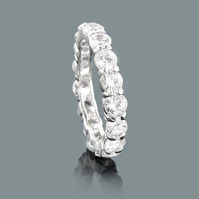 Thin Large Round Diamond Eternity Band 4.50ct 14K Gold Rings large-round-diamond-eternity-band-450ct-14k-gold-rings_1