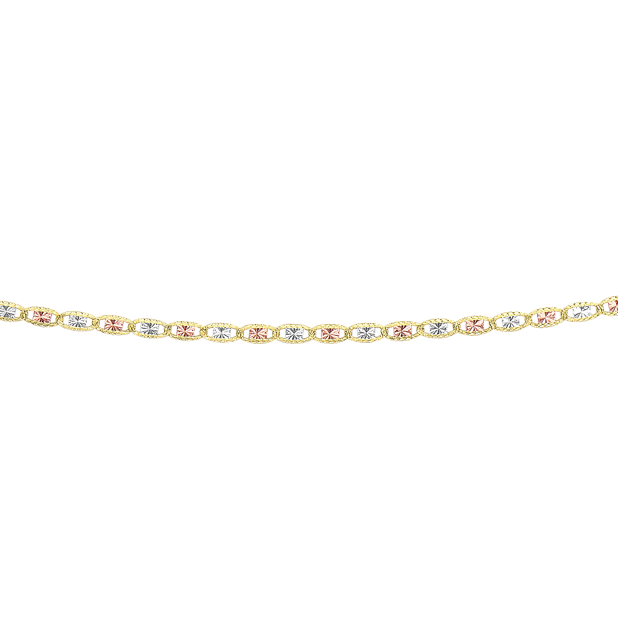 LUXURMAN Solid 14k Gold Valentino Chain For Women 2.1mm Wide Main Image