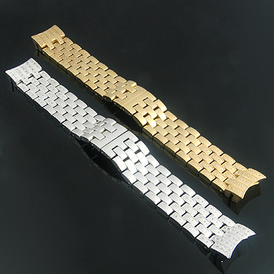 Luxurman Watch Diamond Band Stainless Steel for Raptor Watches 0.75ct Main Image