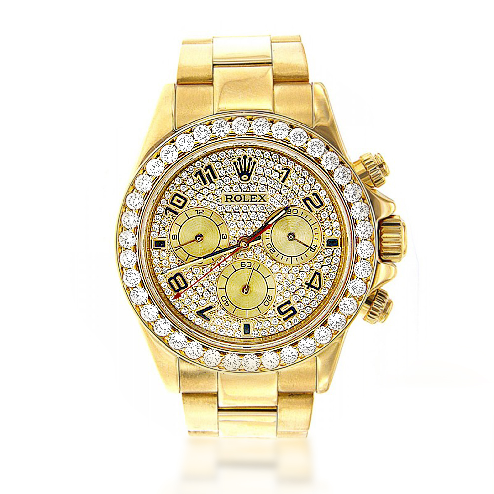s watches 18k yellow gold rolex cosmograph