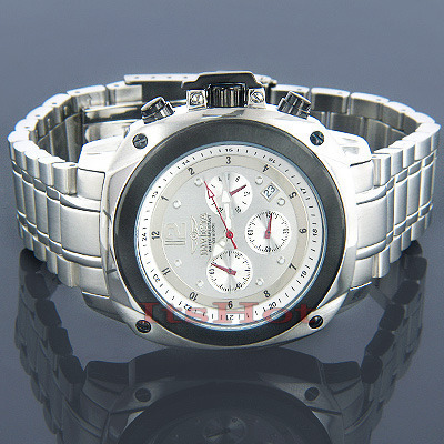 Mens Invicta Watches Signature Chronograph Watch Main Image