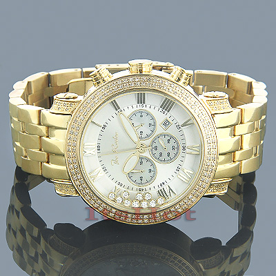 Mens Joe Rodeo Watches JoJo Rainbow Diamond Watch 1.75