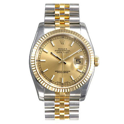 Mens ROLEX Oyster Perpetual Datejust Watch Main Image