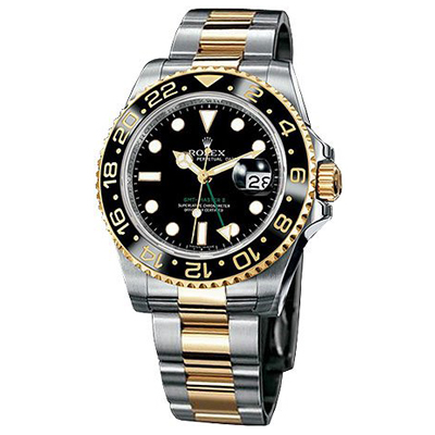 Mens ROLEX Oyster Perpetual Watch GMT Master II Main Image