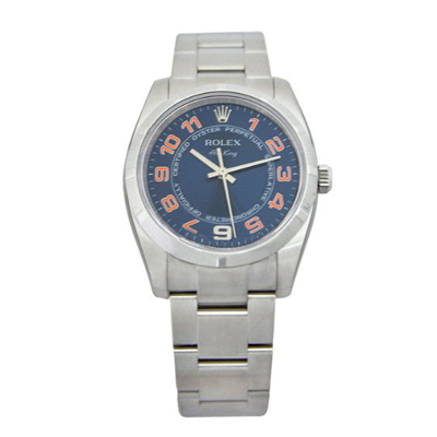Mens ROLEX Oyster Watch Perpetual Air-King Blue