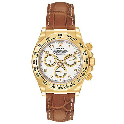 Mens ROLEX Oyster Watch Perpetual Cosmograph Daytona Main Image