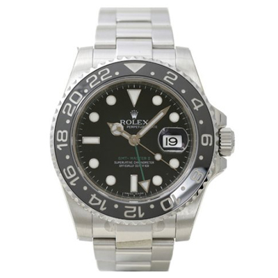 Mens ROLEX Oyster Watch Perpetual GMT-Master II