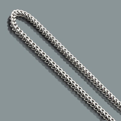 "Mens Stainless Steel Franco Chain Necklace 6mm 30"" mens-stainless-steel-franco-chain-necklace-6mm-30_1"